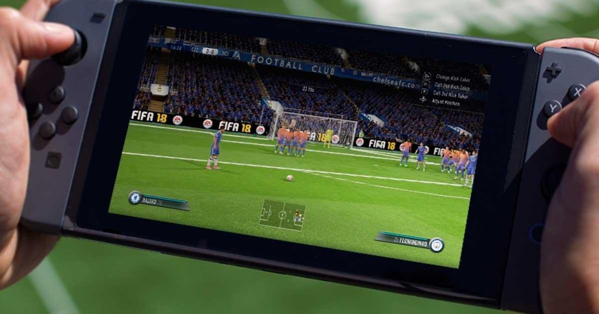 impresiones de fifa 18 para nintendo switch desde gamescom