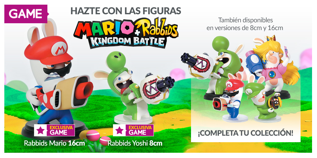 Figuras de Mario + Rabbids Kingdom Battle en GAME