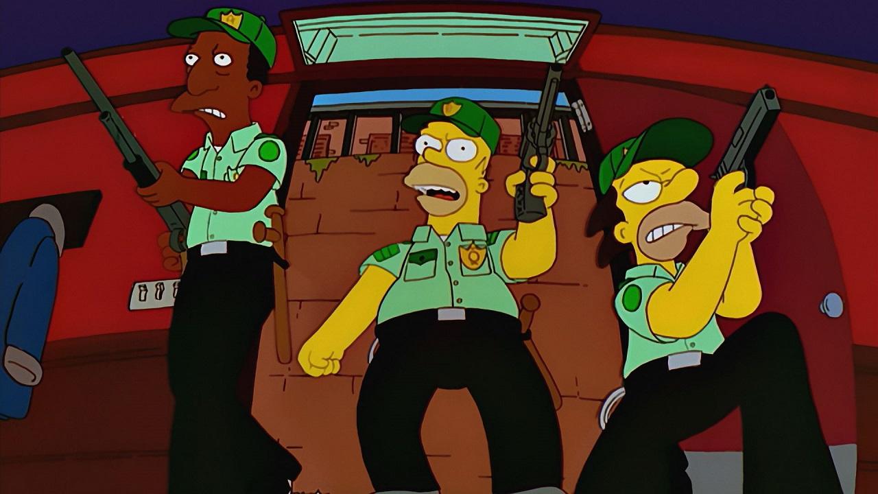 Homer cop