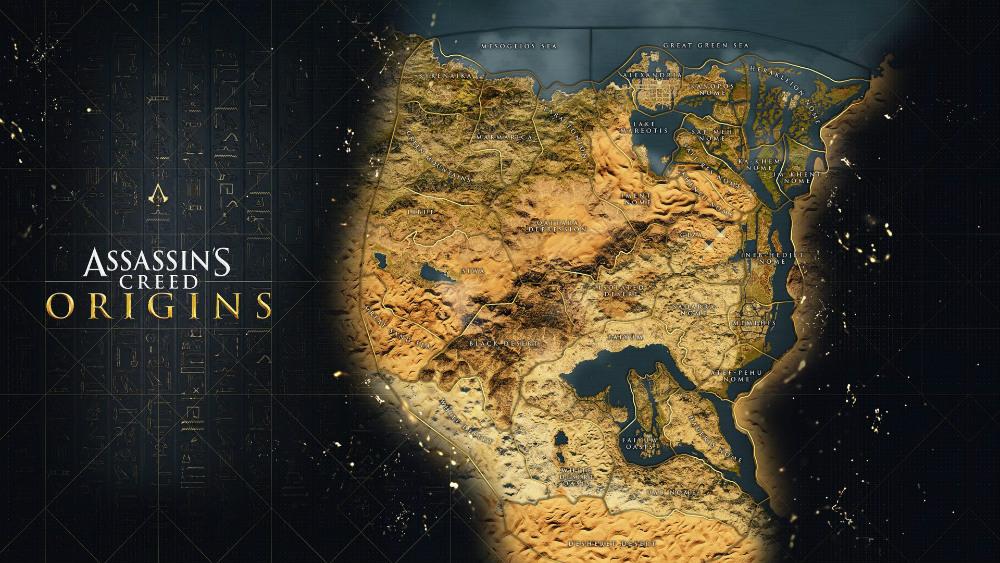 Mapa de Assassin's Creed Origins