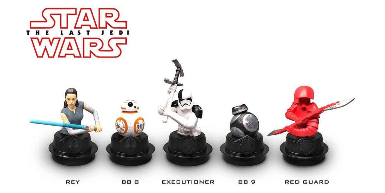 Merchandising Star Wars: Los últimos Jedi, con BB-9 y el Stormtrooper Executioner