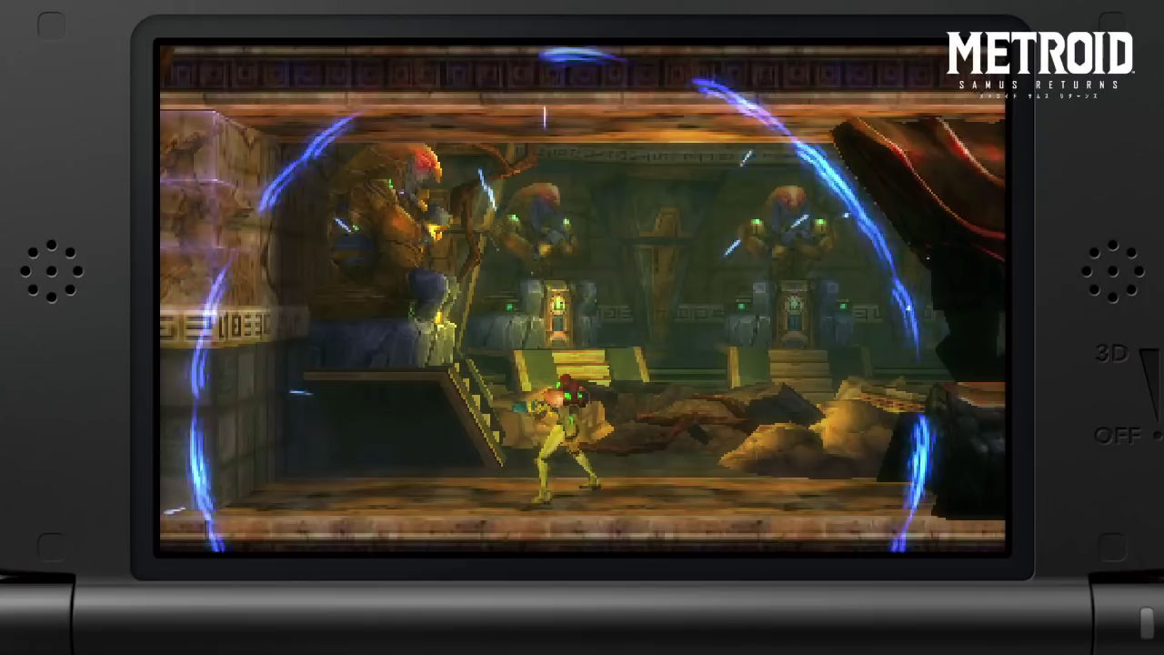 Metrois Samus Returns Nintendo 3DS