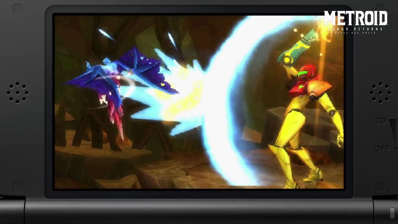 Metrois Samus Returns Nintendo 3DS