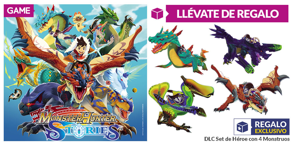 Monster Hunter Stories GAME