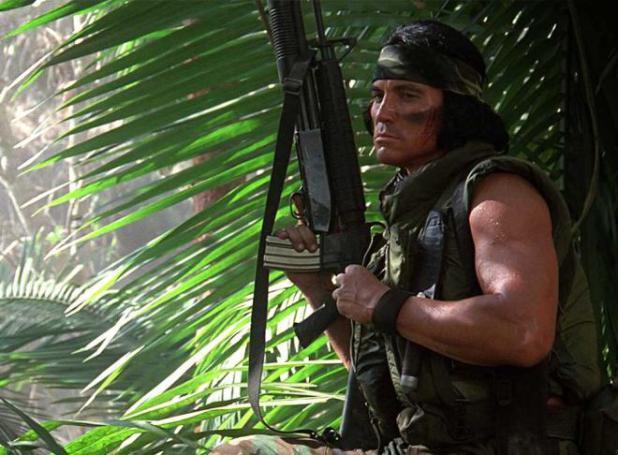 El indio, Predator, soldado