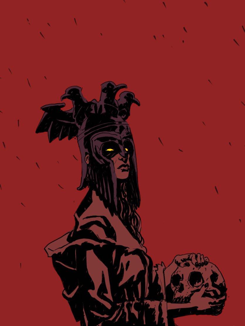 Nimue, la Reina de la Sangre en Hellboy