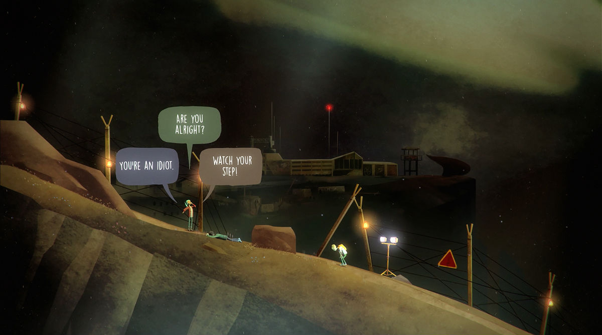Oxenfree iPhone iPad