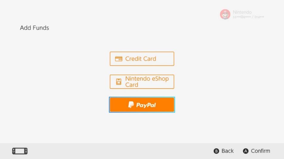 PayPal Nintendo Switch (buena)