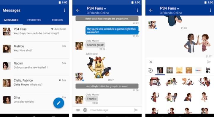 Apps de PS4 para Android