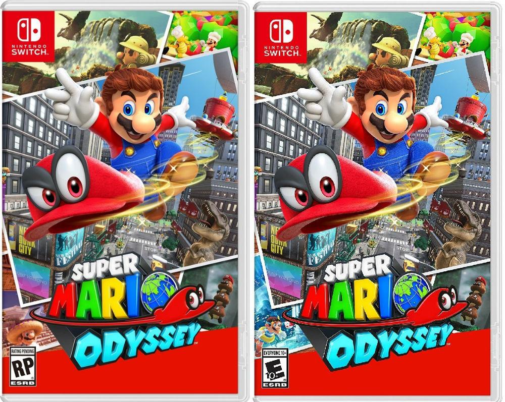 Portadas Super Mario Odyssey