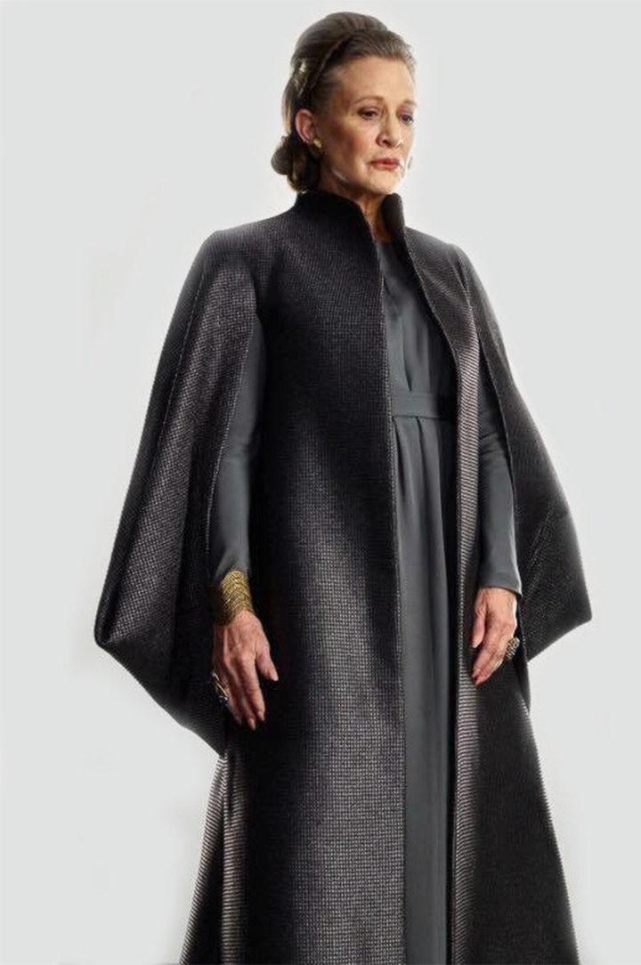 Princesa Leia en Star Wars: Los últimos Jedi