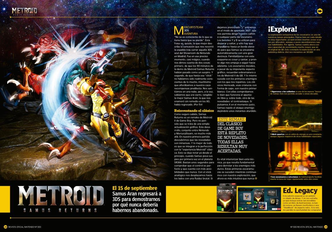 Reportaje Metroid