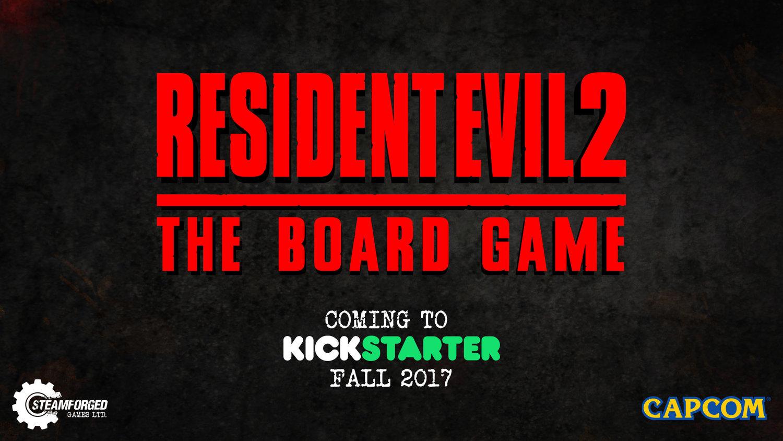 Capcom Anuncia El Juego De Mesa Oficial De Resident Evil 2