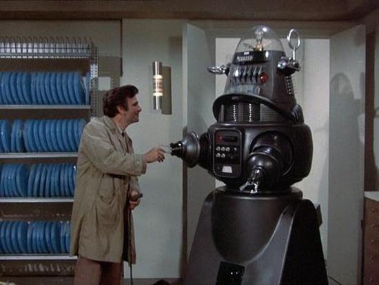 Robby el Robot en Colombo