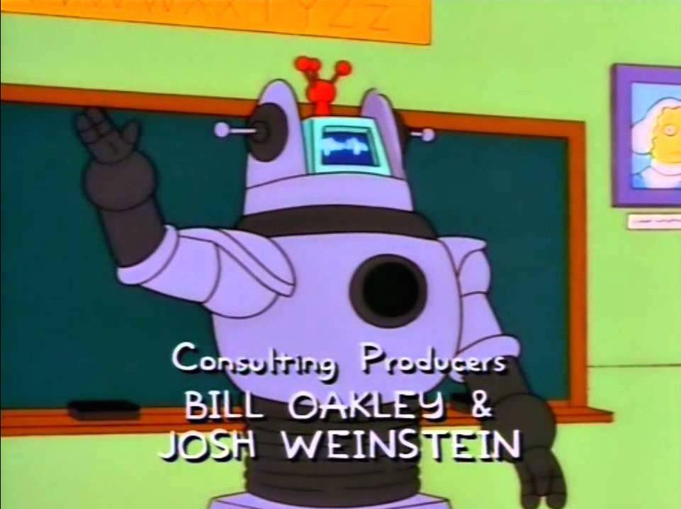 Robby el Robot en Los Simpsons