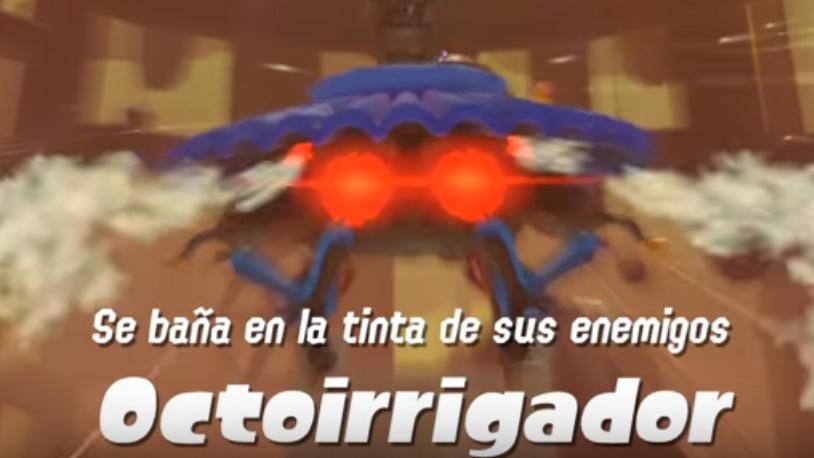 Splatoon 2 Octoirrigador