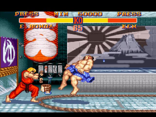 Street Fighter II SNES