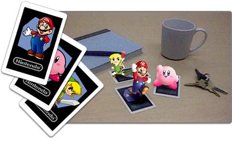Realidad aumentada en Nintendo 3DS
