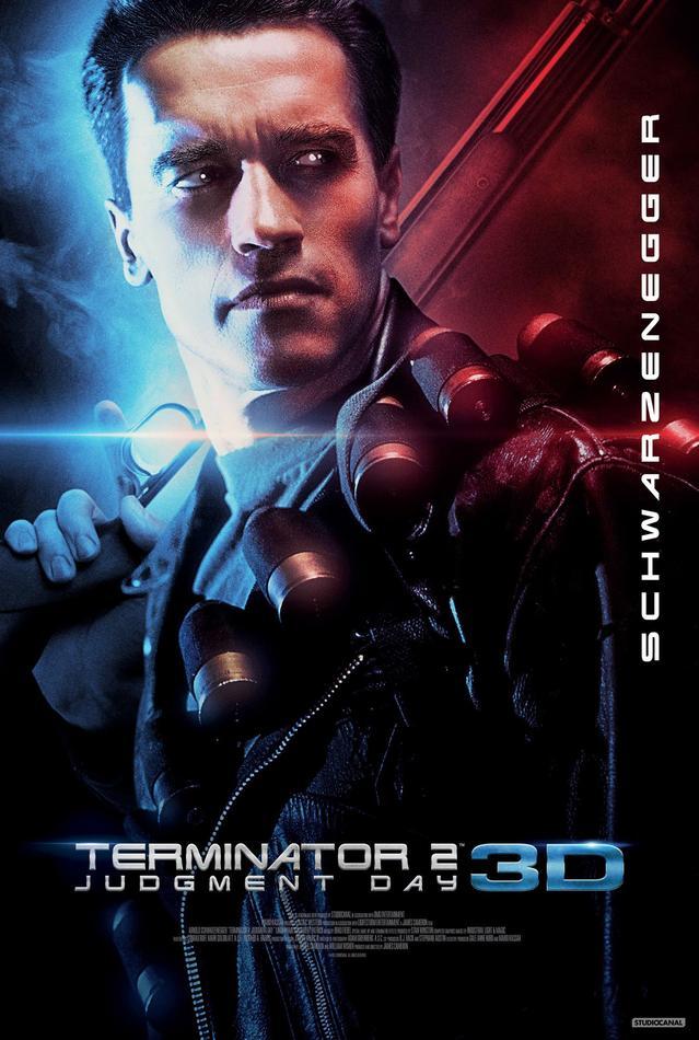 Terminator 2 póster reestreno 3D