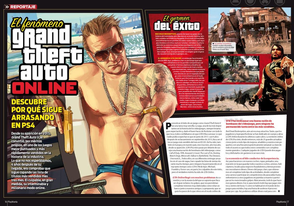 Todo sobre el fenómeno GTA Online en Playmania 226