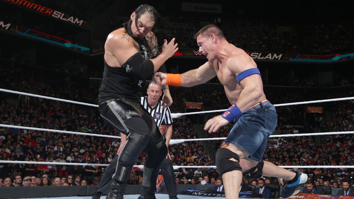 WWE SummerSlam 2017 - Baron Corbin vs. John Cena