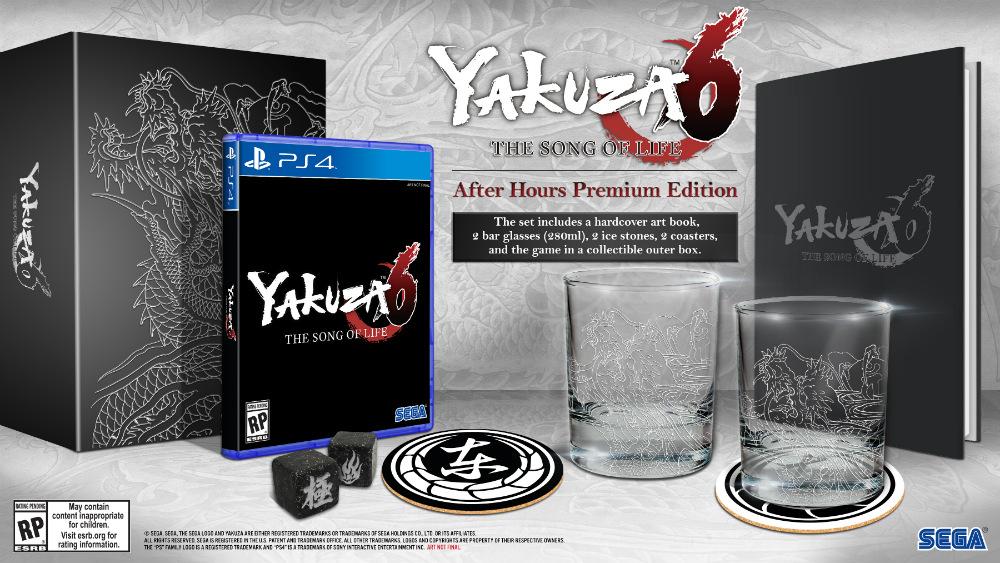 Yakuza 6 ediciones