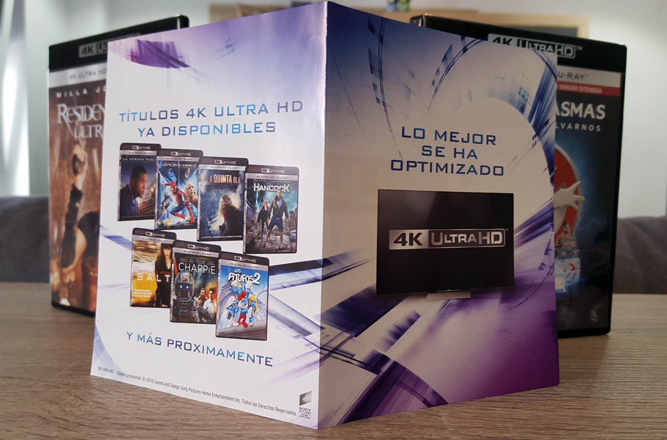 4K Ultra HD Flyer
