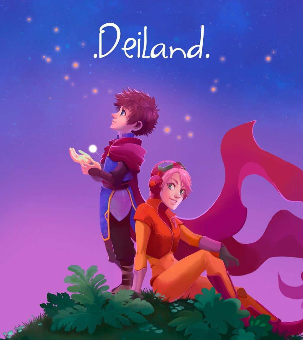 Arte Deiland para PS4