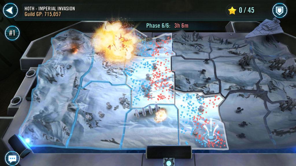 Batallas territoriales SWGoH