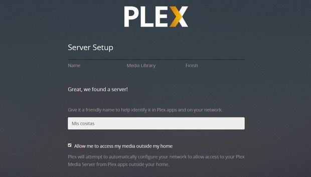 Cómo configurar Plex