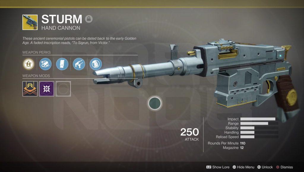Destiny 2 armas exóticas
