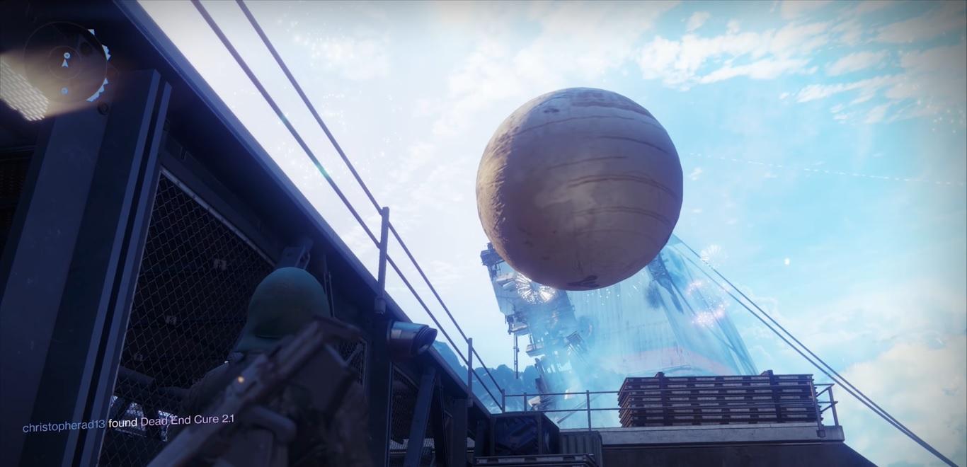 Destiny 2 - Gran bola del viajero
