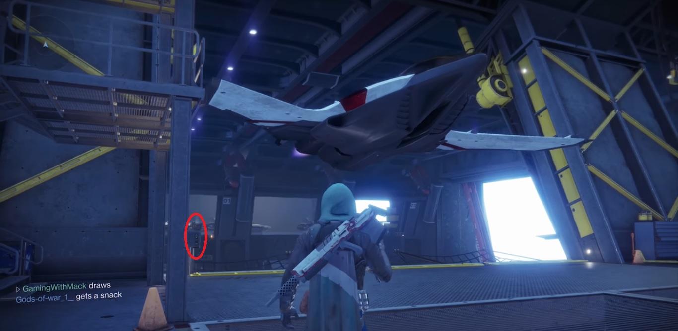 Destiny 2 - Llama a la nave