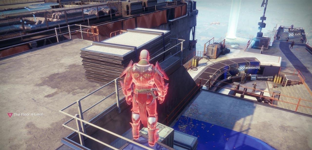Destiny 2 El Suelo es Lava