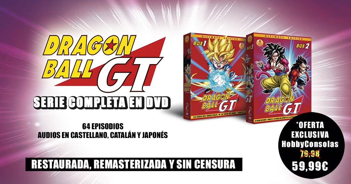 Dragon Ball GT oferta RRSS