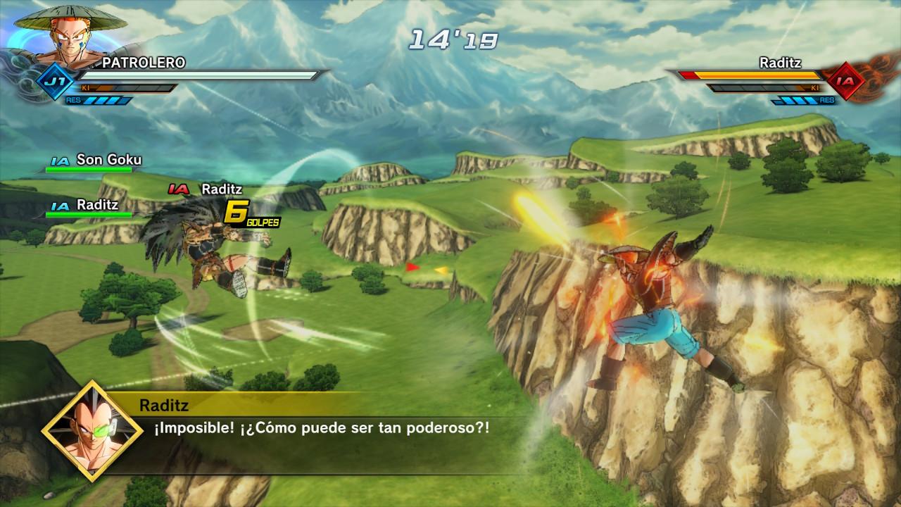 Dragon ball Xenoverse 2 en Switch