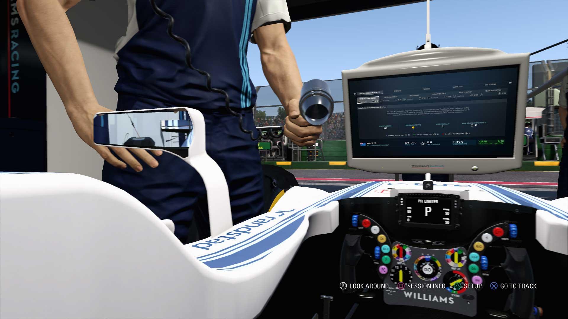 F1 2017 reglajes