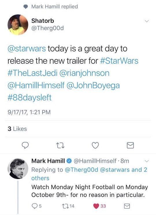 fecha tráiler Star Wars 8