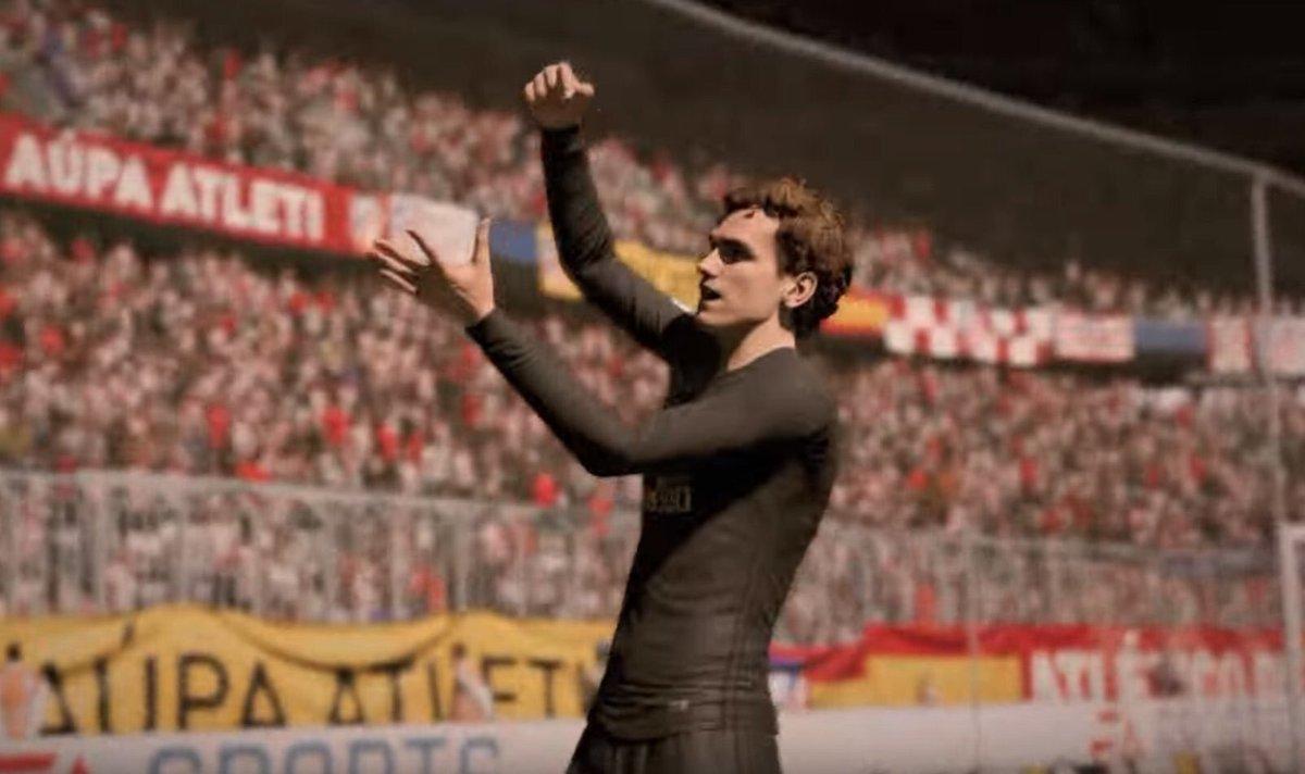 FIFA 18 celebraciones