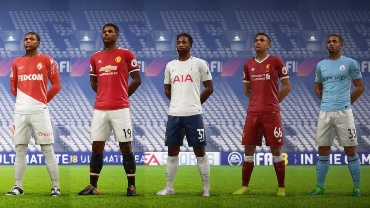 FIFA 18 jóvenes talentos