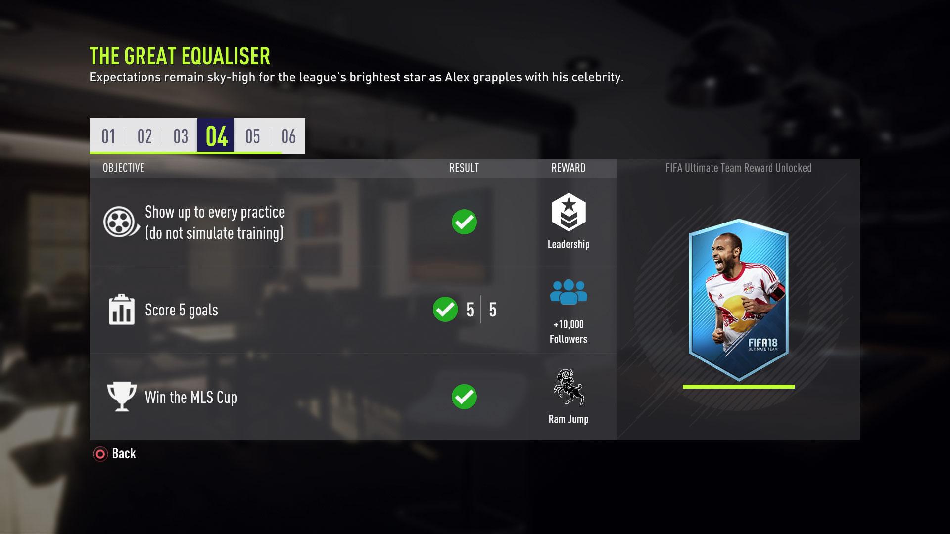 FIFA 18 modo historia