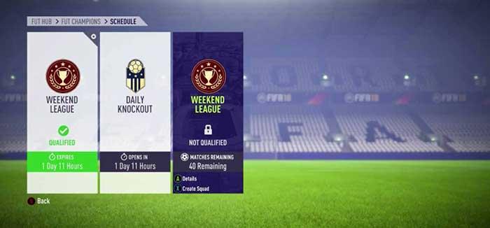 Qué es FUT Champions en el modo Ultimate Team de FIFA 18