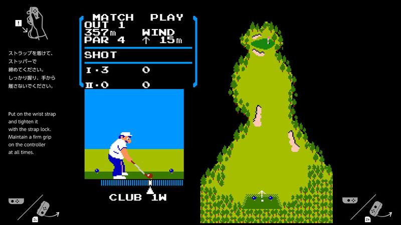 Golf (1984) en Nintendo Switch