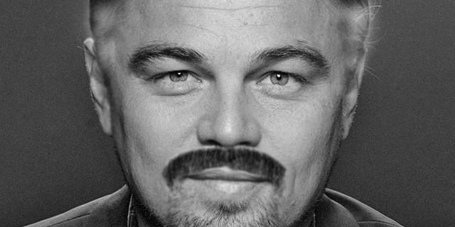 Leonardo DiCaprio caracterizado como Stan Lee por ComicBookMovie