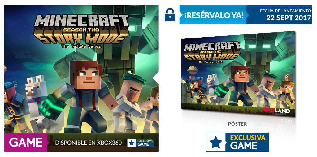 Minecraft Story Mode Season 2 en GAME