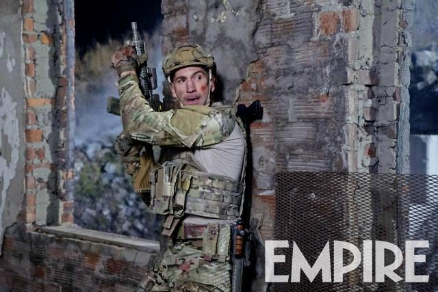 Nueva imagen de The Punisher, con Frank Castle en la guerra