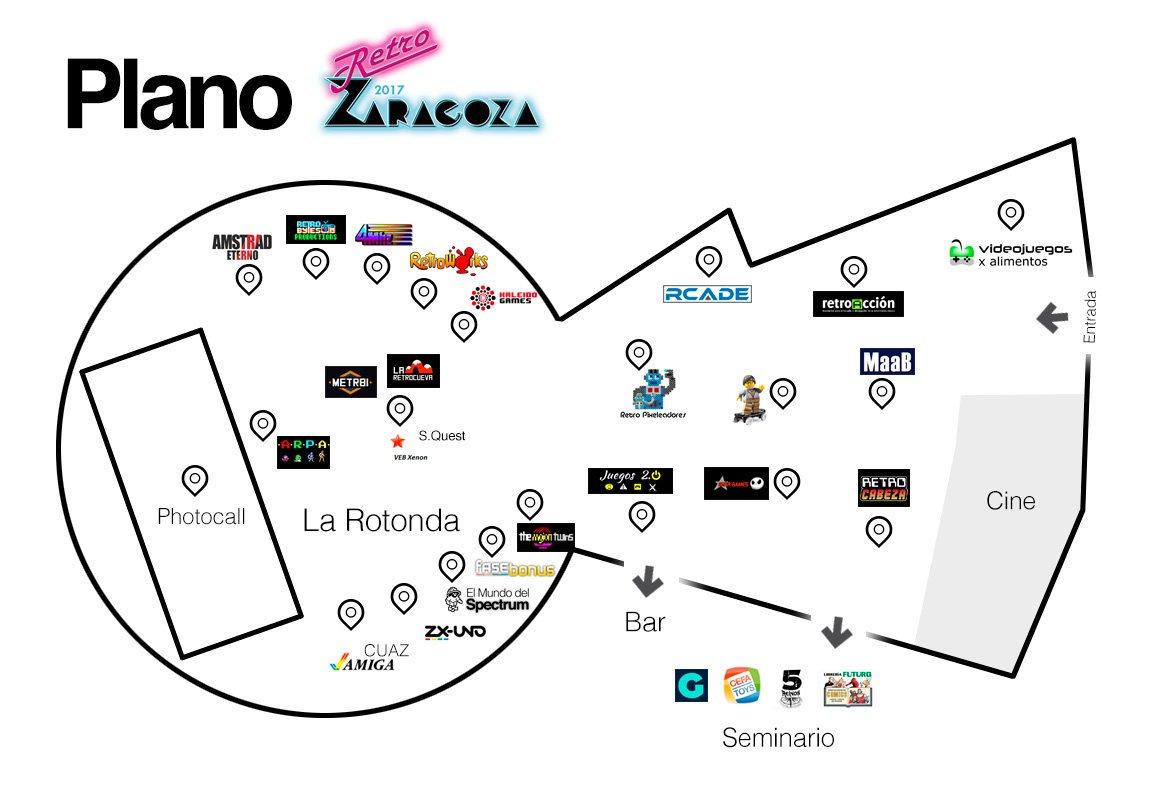 Plano Retro Zaragoza