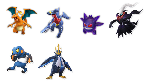 Pokkén Tournament DX luchadores