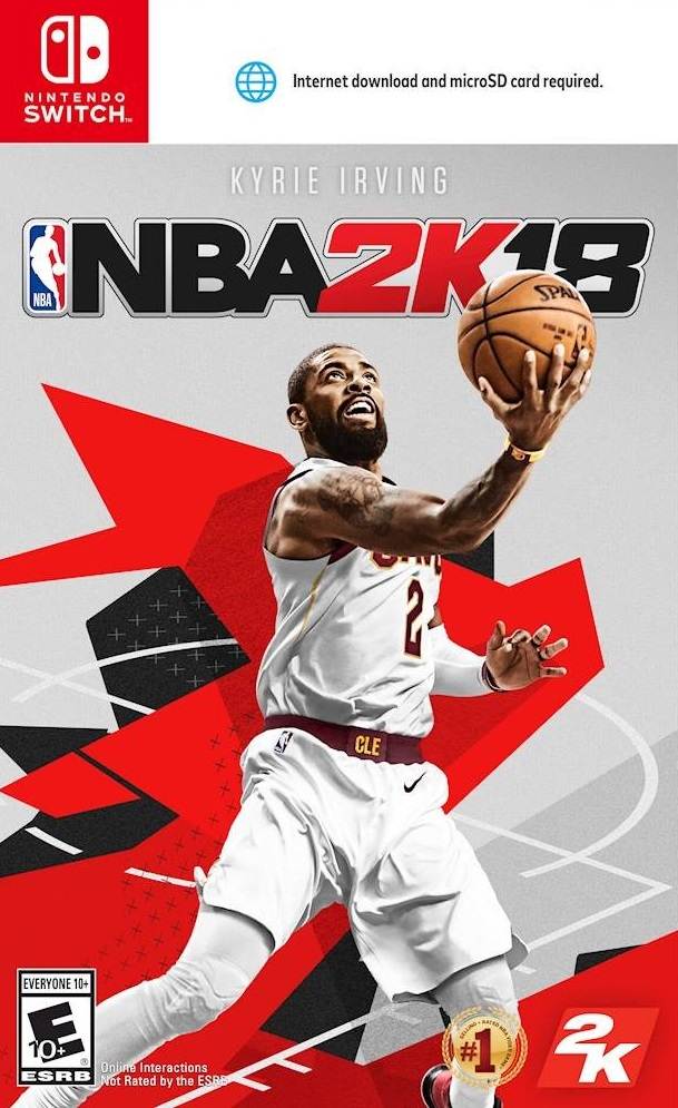 POrtada de NBA 2K18 para Nintendo Switch