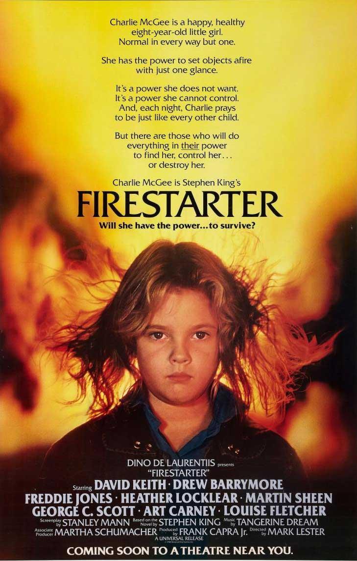 Póster Ojos de Fuego (Firestarter)